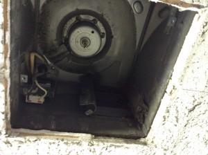 トイレ換気扇 作業前