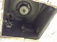 トイレ換気扇 作業後