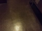 店舗の床 洗浄後