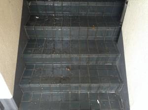 高圧洗浄 階段