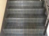 高圧洗浄後 階段